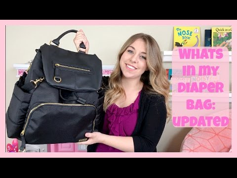 WHATS IN MY DIAPER BAG I WITH TODDLER AND NEWBORN - YouTube