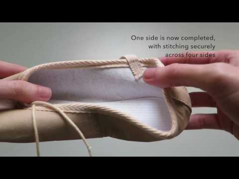 How To Sew Ballet Shoe Elastic