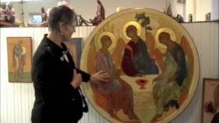 Saints and Iconography 7: Symbols in the Holy Trinity icon