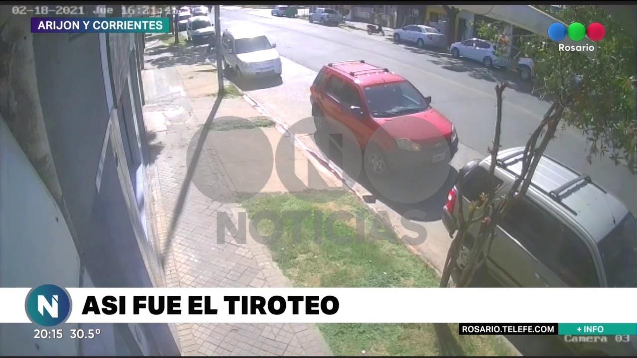 Así fue el tiroteo entre policía y ladrón - Telefe Rosario