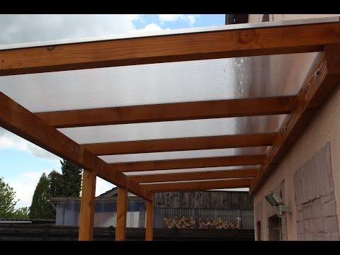 DIY Selbstgebautes Hausvordach Aus Holz / Self-built House Canopy Wood