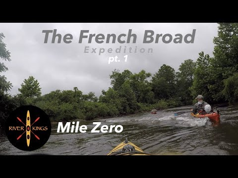 Kayak Camping - Thru Paddle On The French Broad River E1