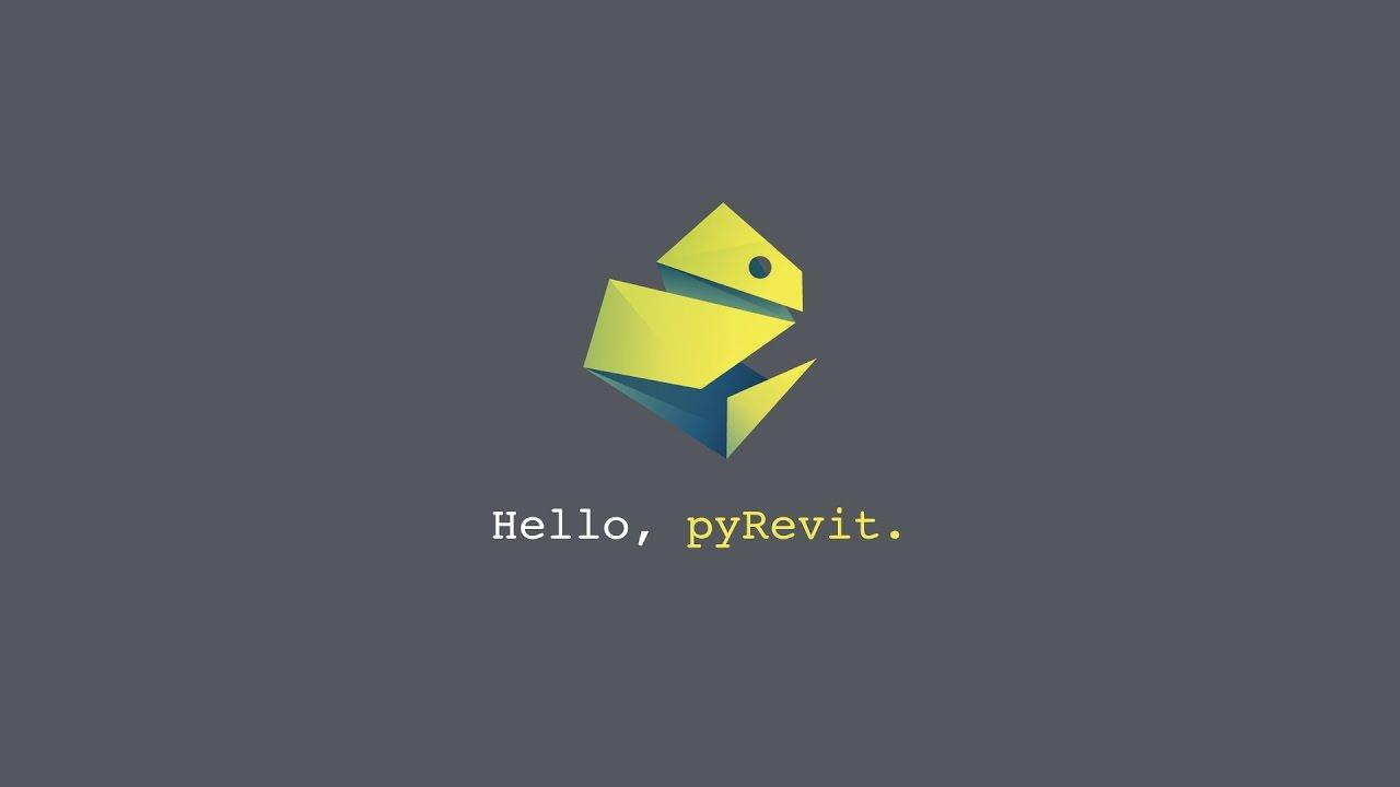 pyRevit - Basics of Scripting for Autodesk Revit