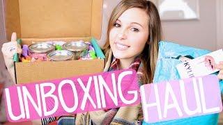Unboxing Haul!! Candy Club, Kylie Lip Kits, Colourpop & More!