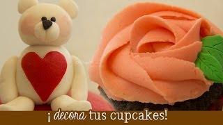 decora tus cupcakes fondant y frosting betn mini serie de repostera ep 4