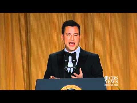 Jimmy Kimmel's 2012 WH Correspondents Dinner performance