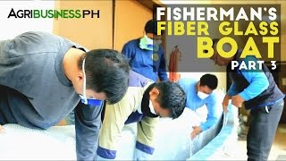 How to construct the unsinkable fiberglass boat : Bangkang Pinoy Part 3
