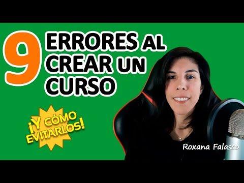 Errores al crear un Curso Online y cómo evitarlos