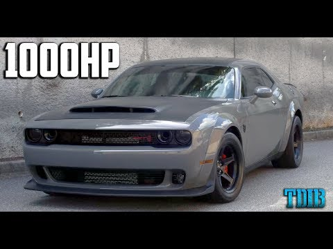 1000HP Dodge Demon Review  Taming the BEAST!