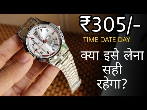 ₹305 Watch With Date & Day At Flipkart !! Is It Worth To Buy Fogg Men & Woman Watches