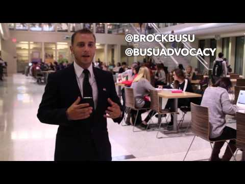 BrockU Get Out The Vote: Candidates Debate