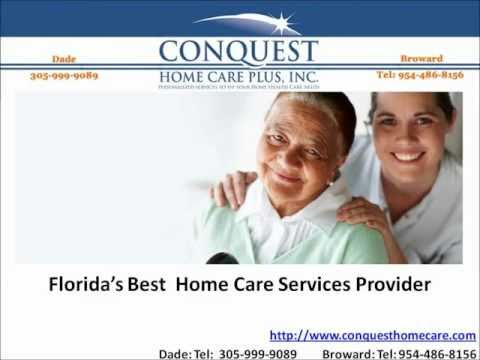 CONQUEST HOME CARE PLUS, INC - Florida's Best Home Care Services Provider!