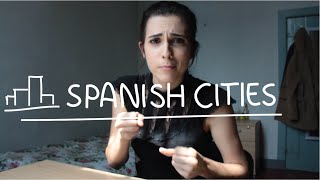 Weekly Spain Spanish Words with Rosa - Spanish Cities