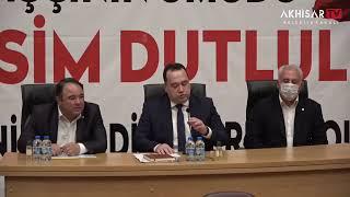 Akhisar Belediyesi ile Belediye-İş Sendikası'nın işçi haklarınına yönelik ortak basın açıklaması