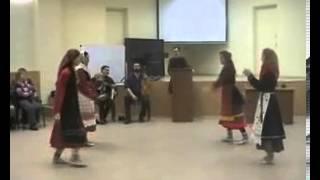 Танец башкирских удмуртов