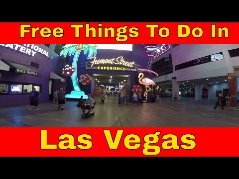 Free Things To Do In Las Vegas: Freemont Street Experience