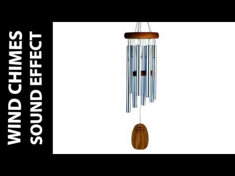 🎧 Wind Chimes Sound Effect | SFX of Magic Wind Chimes Short Version