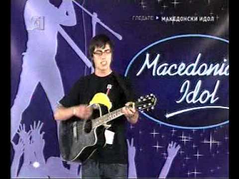 Macedonian Idol La Cantare Кристијан