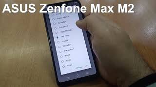 ASUS Zenfone Max M2 ZB633KL Incoming Call And Ringtones