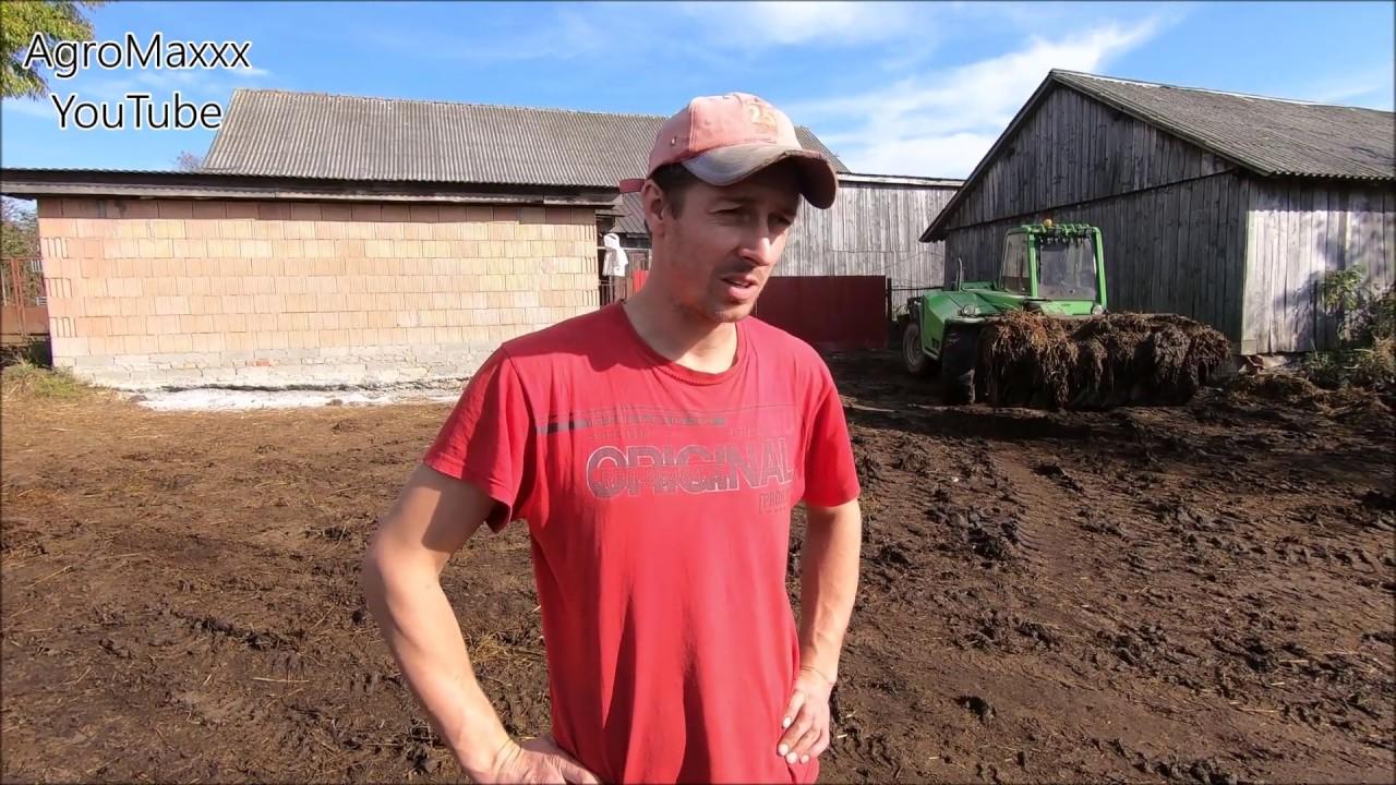 Brat Opowiada o Sytuacji w Rolnictwie ?! Co z Kupnem Ciągnika ? Wywóz Obornika pod Kukurydzę Odc.#8