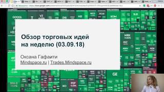 Обзор торговых идей на неделю (03.09.18)