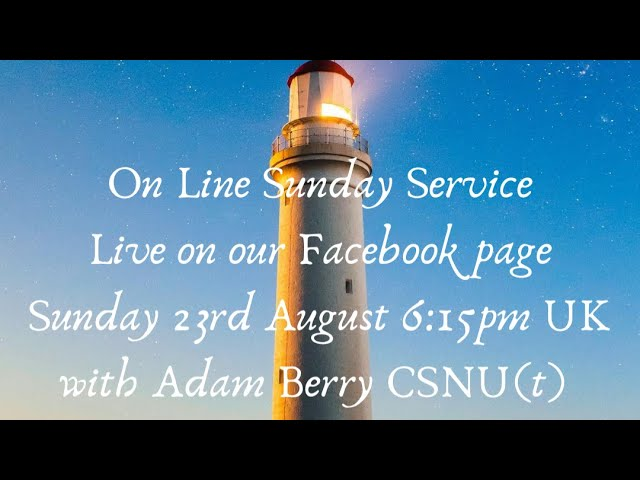 A Philosophy Service with Adam Berry csnu(t)