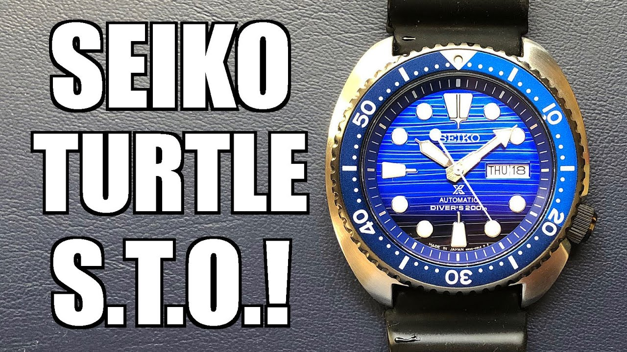 "Seiko ""Save the Ocean"" Turtle Automatic Dive Watch Review (SRPC91K) - Perth WAtch #340"