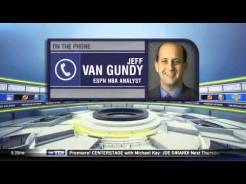 Jeff Van Gundy on the Knicks firing Derek Fisher