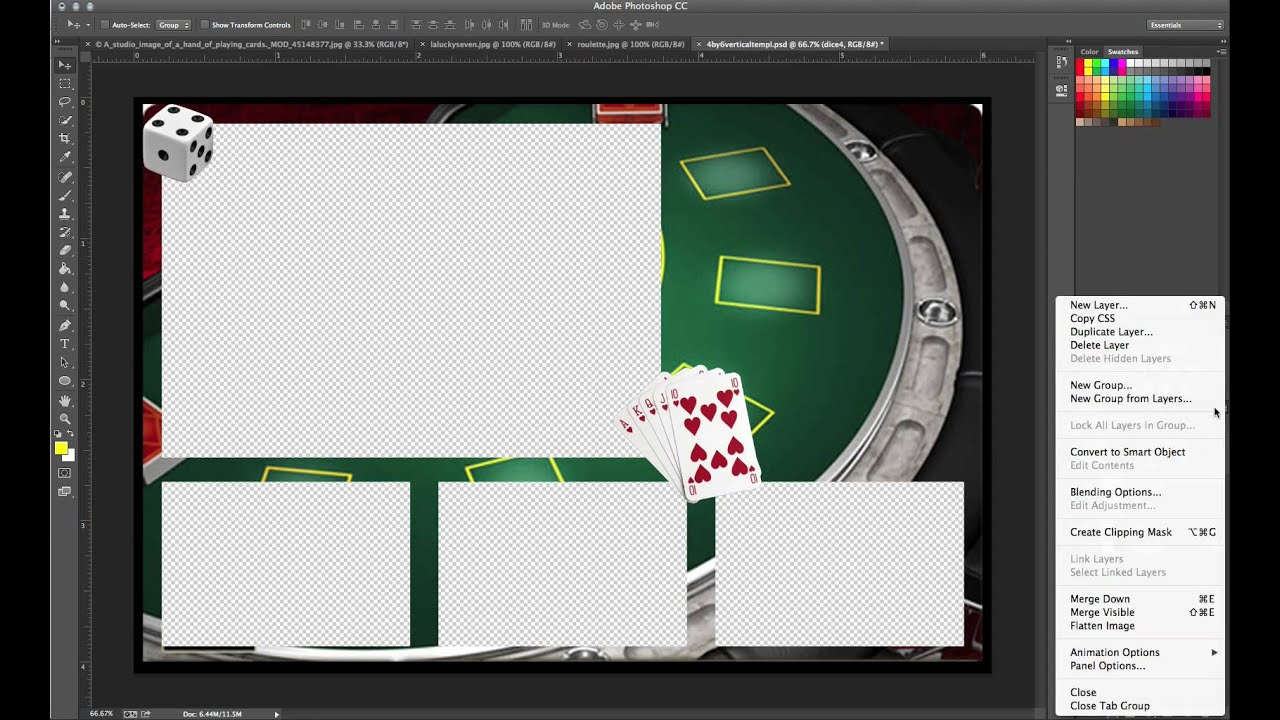 How to create a custom 4x6, 1 large 3 small Template for Breeze ...