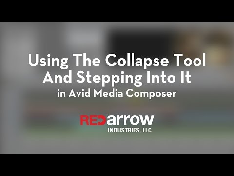 Using the Collapse Tool and Stepping Into It