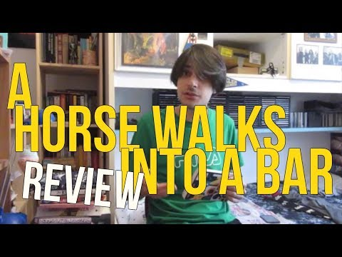 A Horse Walks Into A Bar By David Grossman REVIEW