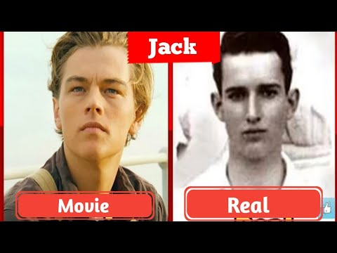 Titanic Real Cast And Crew   Titanic Real Charectors.Jack and Rose Real images