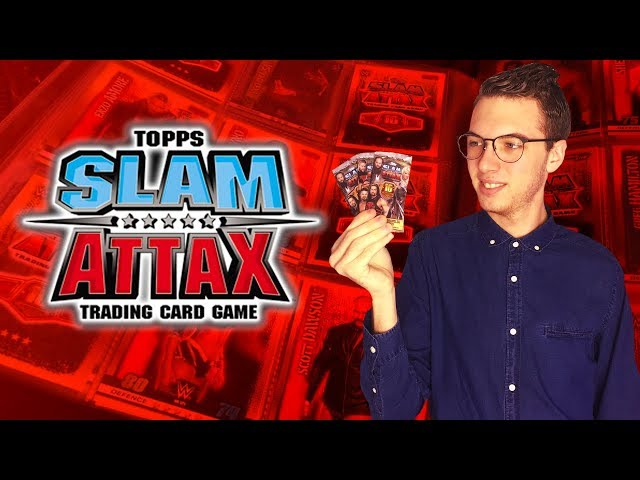 Carte Slam Attax 10th edition Goldberg !!!
