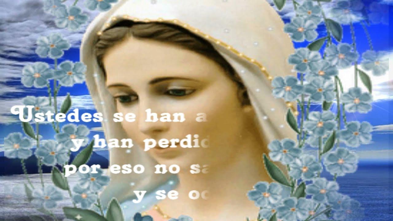 Ave Mara Celine Dion Hermosos mensajes de la Reina de la Paz