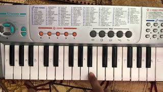 Lag Ja Gale   Song On Piano   Bhoomi  Tutorial  Slow