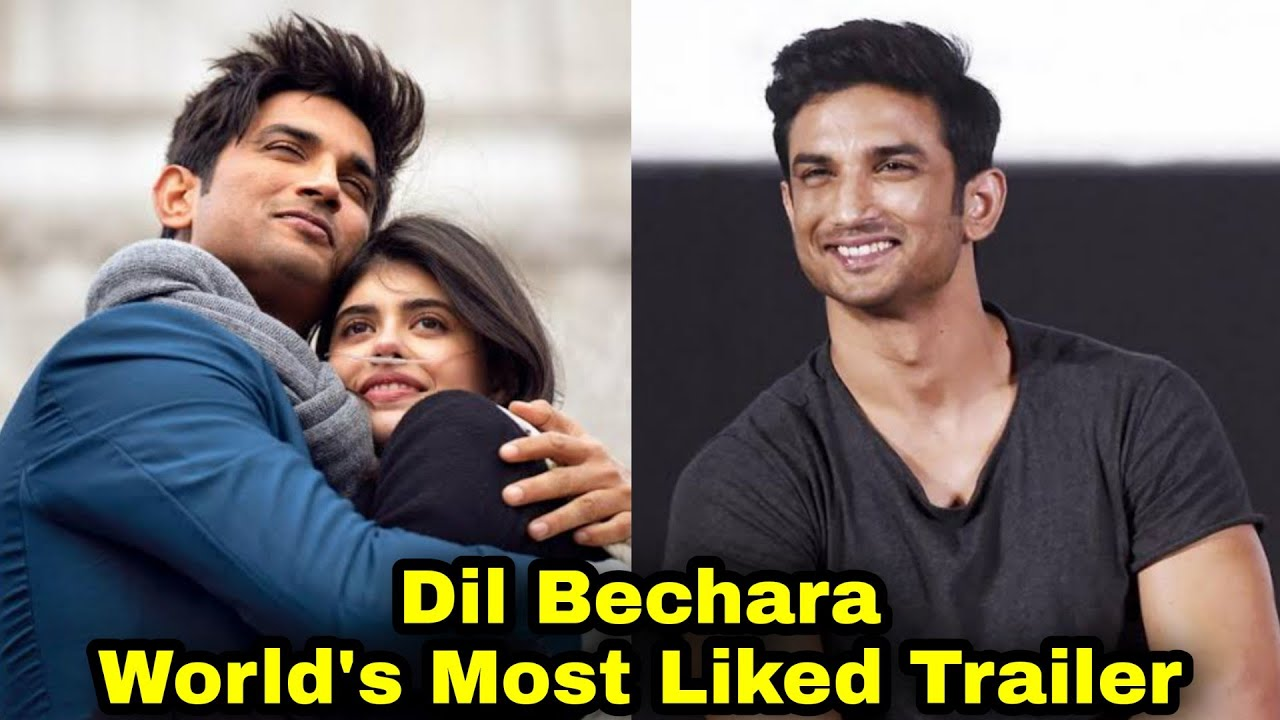 Dil Bechara Trailer Breaks World Record for Most Likes | Sushant Singh Rajput