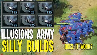 WTF 6 Manta Style Does it Work ? Chaos knight 20 Kills | Dota 2 Silly Builds