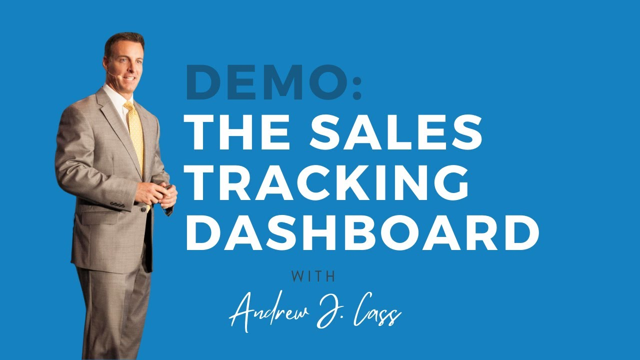 Demo: The Sales Tracking Dashboard