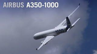 airbus a350 1000 flies at paris air show 2019 aintv
