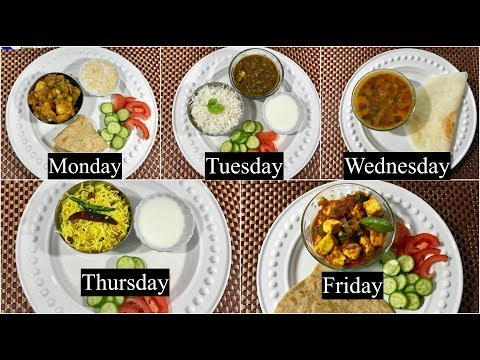 Monday To Friday Easy Indian Dinner Recipes/Ideas Under 30 Minutes | Simple Living Wise Thinking