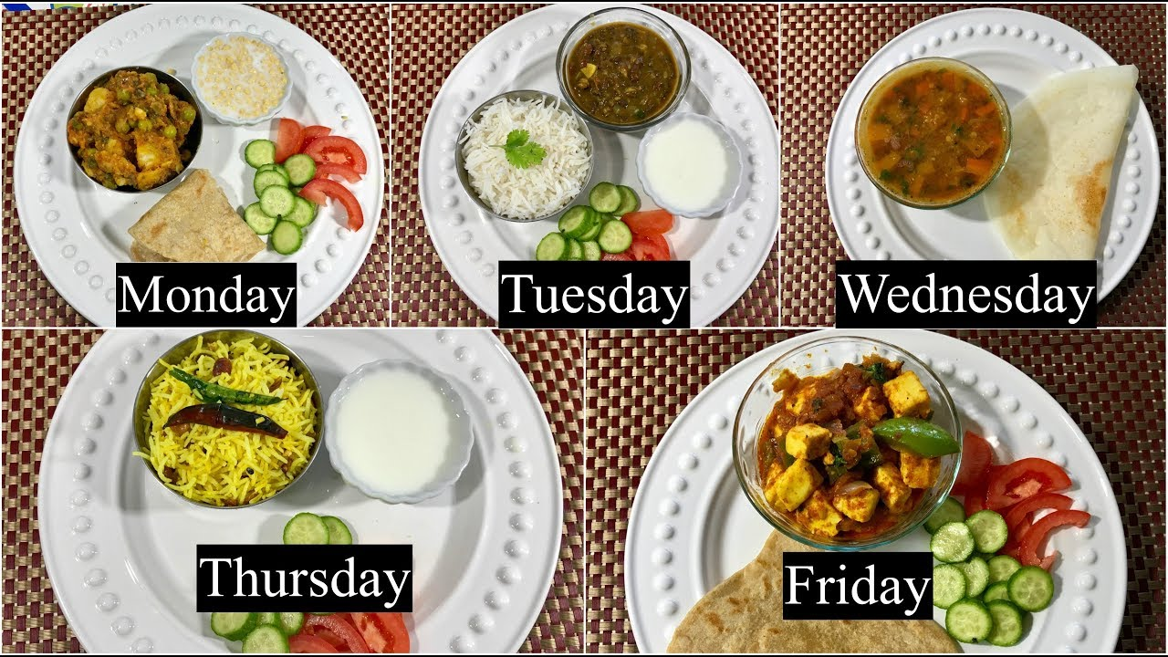 Monday To Friday Easy Indian Dinner Recipes Under 30 Minutes Part 1