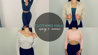 TRY-ON SPRING CLOTHING HAUL♡ FASHION NOVA&FOREVER 21
