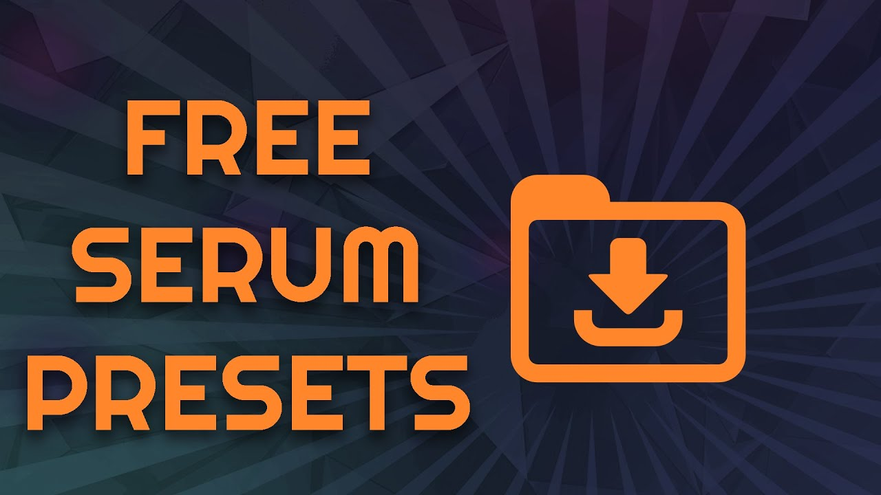 FREE SERUM PRESET PACK