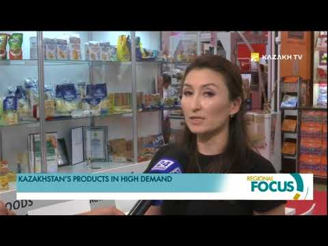 Kazakhstan's products in high demand