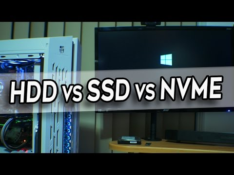 HDD Vs. SSD Vs. NVMe M.2 - Does a NVMe Drive Help Boot Times?