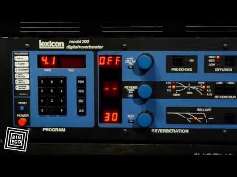 Lexicon Model 200 Digital Reverberator Demo