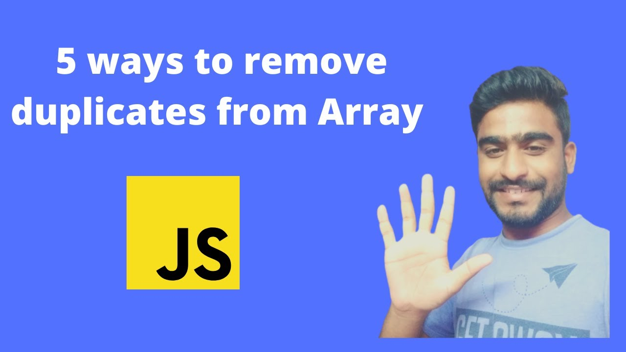 5 Ways to Remove Duplicate Elements From Array in JavaScript
