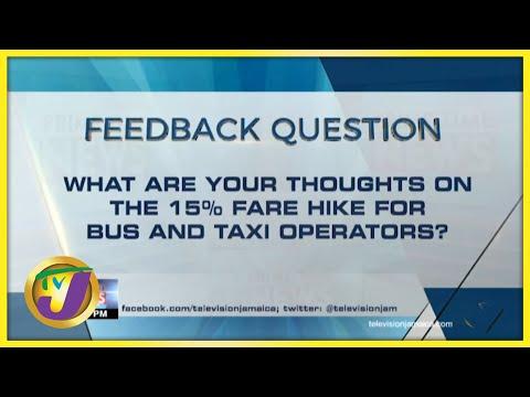 Feedback Question   TVJ News - August 13 2021