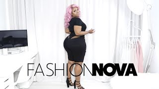 Too Big It Wouldn't Fit | Fashion Nova Plus Size Try On Haul | Edee Beau | Edee Beau