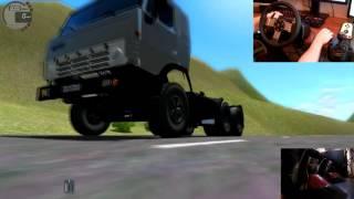 City Car Driving  обзор грузовиков КРАЗ 250, КАМАЗ 54112, КАМАЗ 4911 Мастер  G27